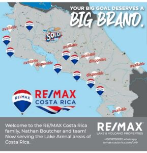 REMAX Lake and Volcano Properties serving Arenal Costa Rica